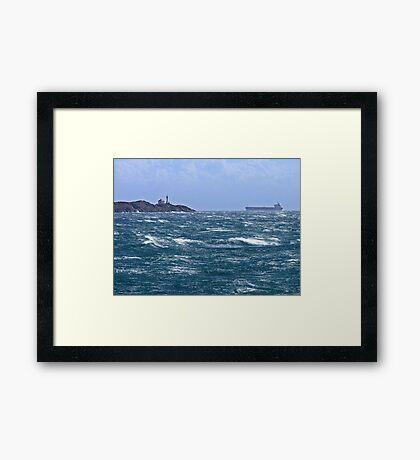 Safe Passage Framed Print