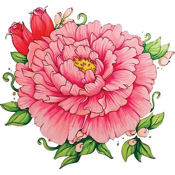 Peony Love by ALRfineArt