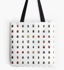 Beetles Ladybugs Insects Bugs Tote Bag