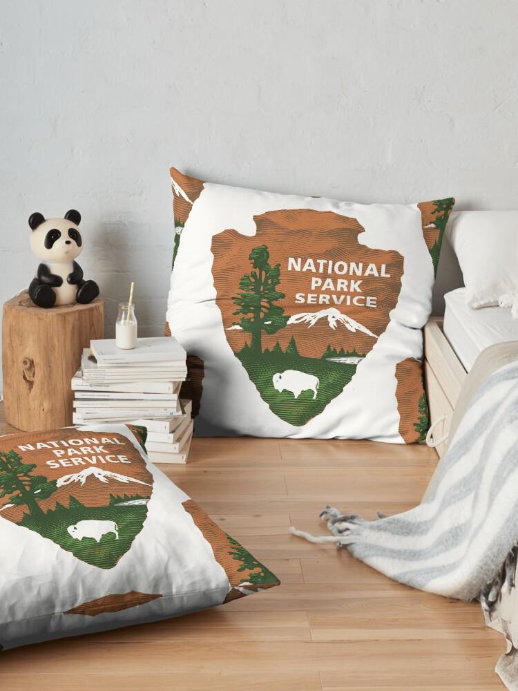 Alternative Ansicht von Nationalpark Service Bodenkissen