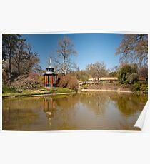 The Pagoda: Cliveden Estate, Buckinghamshire, UK. Poster