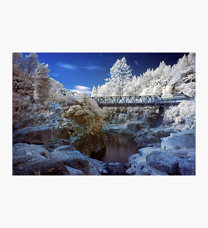 Wairoa River infrared 2 Photographic Print