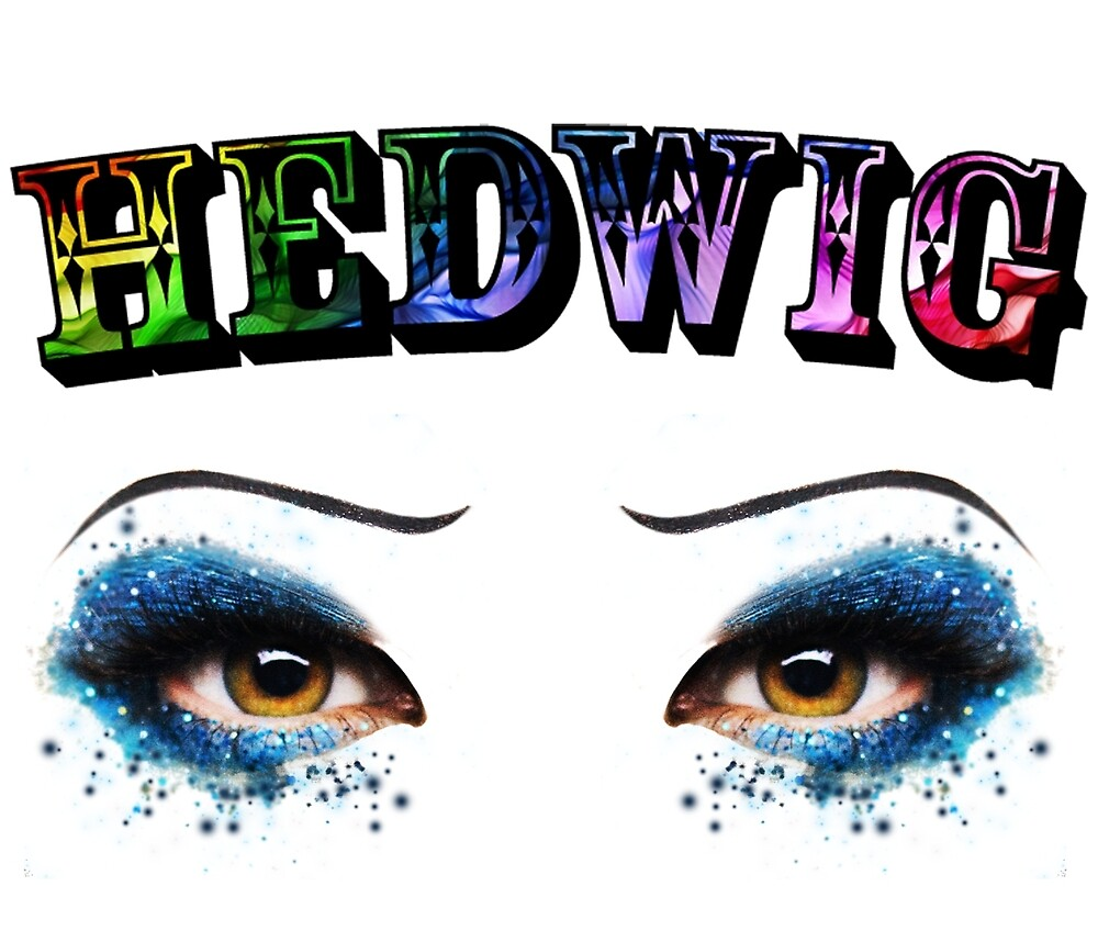 Darren Criss Hedwig Eyes Rainbow by LadiesInDark