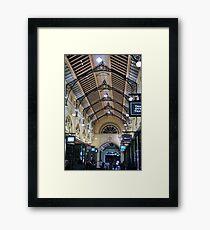 Melbourne arcade Framed Print