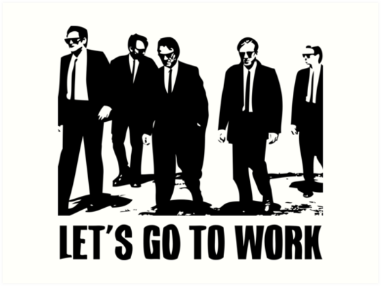 Let's Go to Work by jonzes