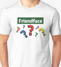 Friendface Question Marks Unisex T-Shirt