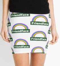 Friendface Rainbow Mini Skirt