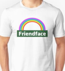 Friendface Rainbow Unisex T-Shirt