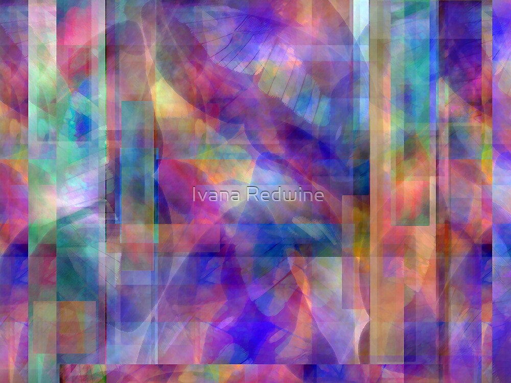 Abstract Composition #1 - April 21, 2010 by Ivana Redwine