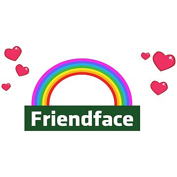 Friendface Rainbow Hearts by expandable
