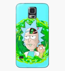 Rick and Morthy  Case/Skin for Samsung Galaxy