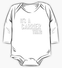 It's A Carrier Thing One Piece - Long Sleeve