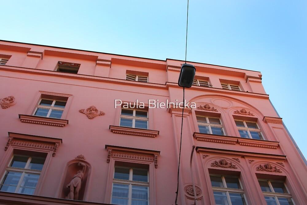Pink in Prague by Paula Bielnicka