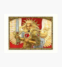 Blood Angel Art Print