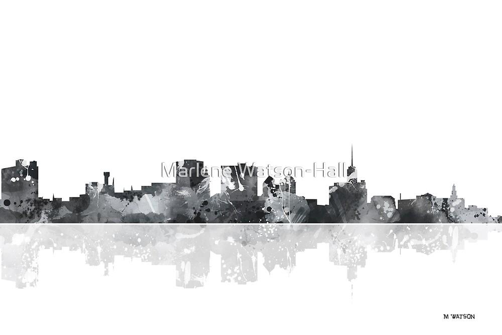 Buffalo New York Skyline by Marlene Watson