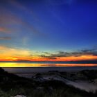 sand dune sunset by adouglas