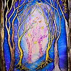 Trees - Towards the Light by Linda Callaghan