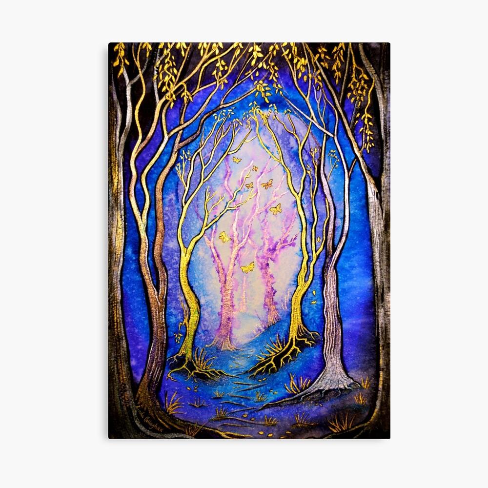 Trees - Towards the Light Canvas Print