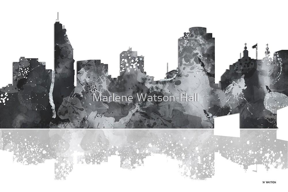 Cincinnati Ohio Skyline by Marlene Watson