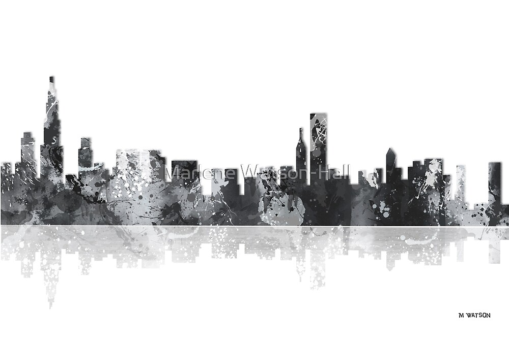 Chicago Illinois Skyline by Marlene Watson