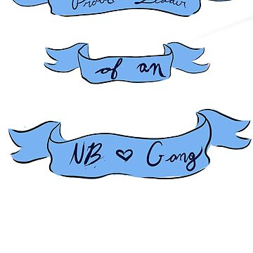 NB Gang- In Blue by theirgrace
