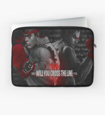 Will You Cross the Line Laptop Sleeve
