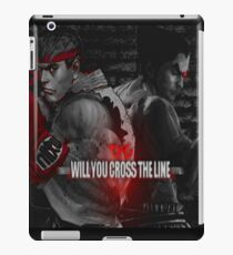 Will You Cross the Line iPad Case/Skin
