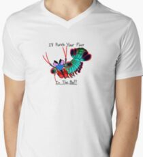 I'LL PUNCH YOU V-Neck T-Shirt
