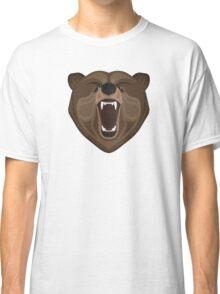 Graphic wild bear Classic T-Shirt