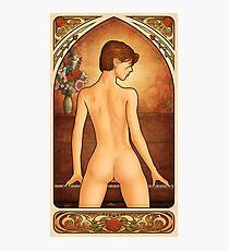Art Nouveau Nude Photographic Print