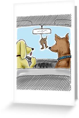 Doggie Lufterfrischer - Doggone true von 13thfloorcomic