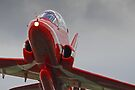 Red 10 Departs From Farnborough  by Colin  Williams Photography
