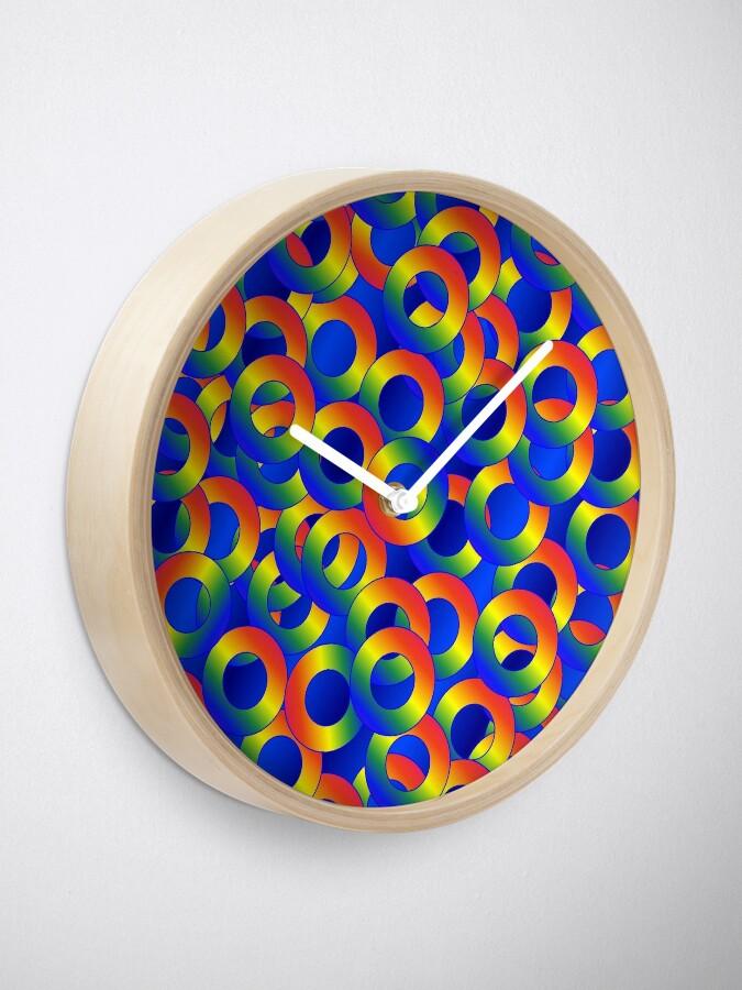Alternate view of  Hoop Team Clock