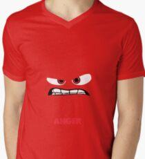 Inside Out of Anger Men's V-Neck T-Shirt