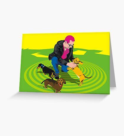 Alma Park Dachshunds Greeting Card