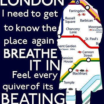 London Underground Map Sherlock by Elly190712
