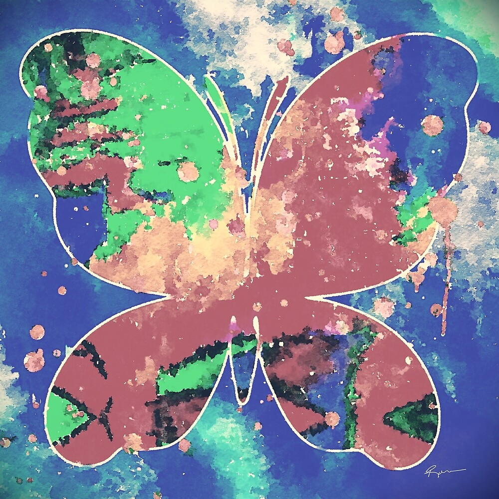 Butterfly #5 by Anthony Ross