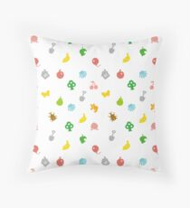 Animal Crossing Amiibo Card - Pattern Throw Pillow