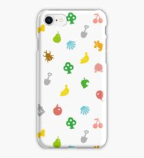 Animal Crossing Amiibo Card - Pattern iPhone Case/Skin