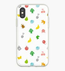 Animal Crossing Amiibo Karte - Muster iPhone-Hülle & Cover