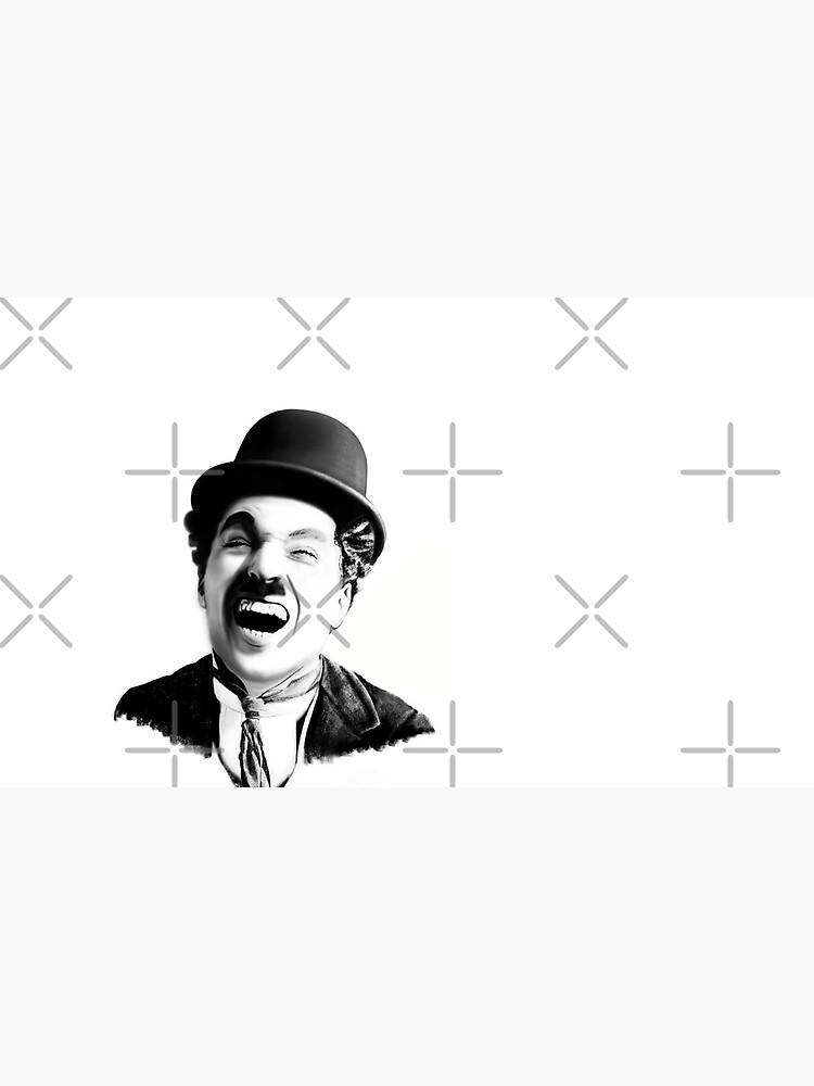 Portrait of Charlie Chaplin by ProPaul