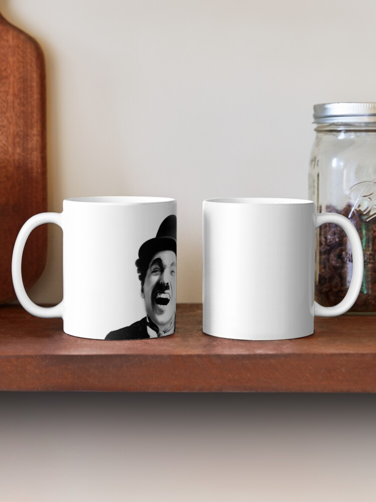 Alternate view of Portrait of Charlie Chaplin Mug