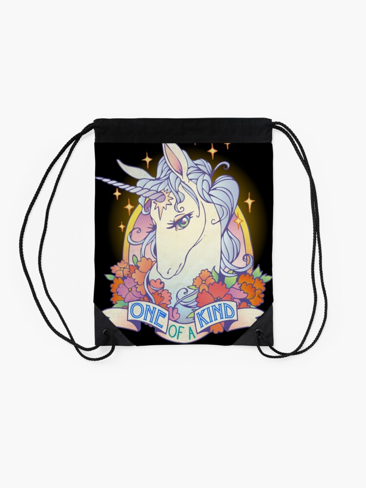Alternate view of One of a Kind Creature Drawstring Bag