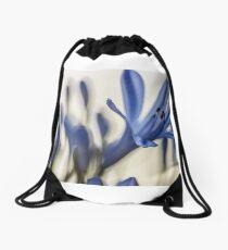 Blur, flowers Drawstring Bag