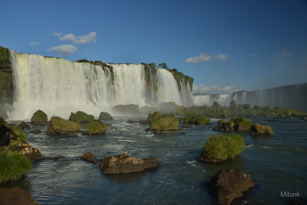 Iguazu Falls by Milonk