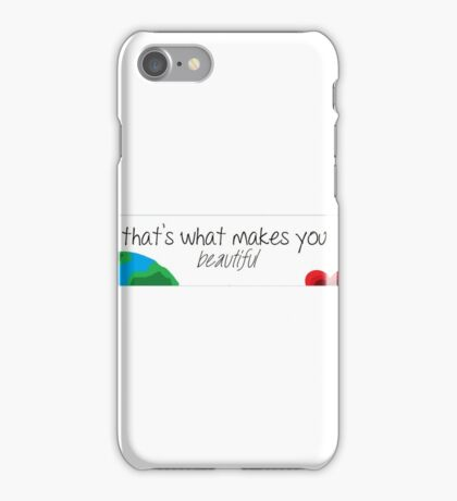 What Makes You Beautiful iPhone Case/Skin
