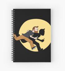 Tintin Style! Spiral Notebook