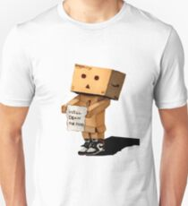 DANBO WILL DRAW FOR FOOD Unisex T-Shirt