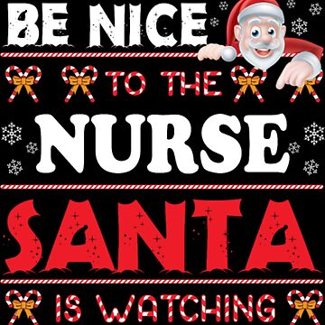 Nurse Santa Xmas Christmas by NovaPaint