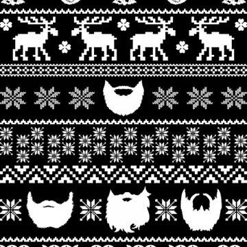 Beard's Xmas Christmas by NovaPaint